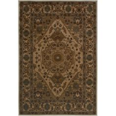 "The Conestoga Trading Co. Ivory Area Rug Rug Size: 3'3"" x 5'3"""