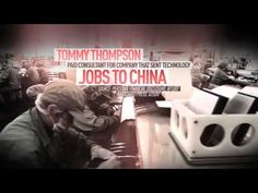 This ad from the DSCC opposes Tommy Thompson, the Republican candidate for U.S. Senate in Wisconsin. 10/9/12