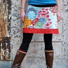 women's yogatop skirt   sizes xs  xl  summer by bodhihandmade, $65.00