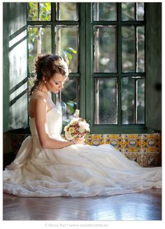 Photos by Sweet Events. Girls Dresses, Flower Girl Dresses, Romantic Love, Real Weddings, Events, In This Moment, Bride, Wedding Dresses, Sweet
