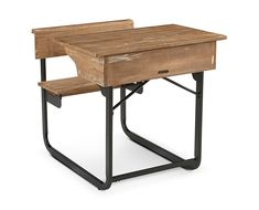 Desks-Magnolia Home Schoolhouse Desk-Perfect for homework or crafts