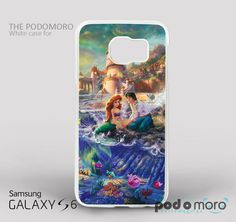 Disney Ariel Little Mermaid for iPhone 4/4S, iPhone 5/5S, iPhone 5c, iPhone 6, iPhone 6 Plus, iPod 4, iPod 5, Samsung Galaxy S3, Galaxy S4, Galaxy S5, Galaxy S6, Samsung Galaxy Note 3, Galaxy Note 4, Phone Case