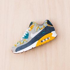 Nike Air Max 90 PA: Gold Light Bone/ Dark Grey