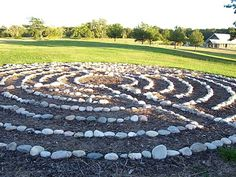Stone Labyrinth- would love to have one!