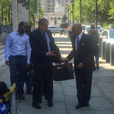 Brooklyn Borough President Adams is lending his support to Grays' case. (Courtesy Fort Greene Focus/Justin Fox.)