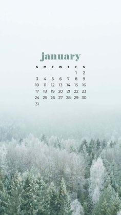 January Wallpaper, Calendar Wallpaper, Fall Wallpaper, Kawaii Wallpaper, February Calendar, 2021 Calendar, Phone Backround, Ipad Background, Bullet Journal Books