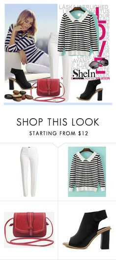 """""""Shein 5"""" by aida-1999 ❤ liked on Polyvore featuring Whiteley and Basler"""
