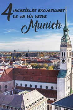 Las 4 Mejores Excursiones Desde Munich, Alemania The 4 best day trips from Munich, Germany Walt Disney World, Silvester Diy, Parks, Image Categories, Birthday Chalkboard, Quiz, Woodland Party, Holiday Cocktails, Day Trips