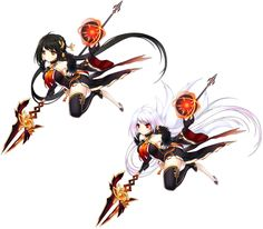 Yama Raja Skill Cut-in from Elsword