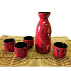 Sake Sets-another thing friends kept giving me...