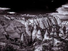 "Kasha-Katuwe Tent Rocks National Monument, NM by Gus Friedman: Kasha-Katuwe means ""white cliffs"" in the Pueblo language Keresan. http://en.wikipedia.org/wiki/Kasha-Katuwe_Tent_Rocks_National_Monument #Natural_Wonder #Tent_Rocks #New_Mexico"