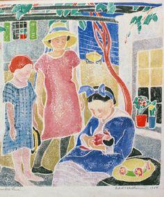 Edith Lake Wilkinson | Woodblock Prints
