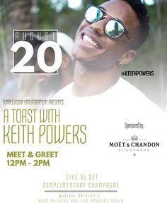"""5,812 Likes, 252 Comments - Keith T Powers (@keithpowers) on Instagram: """"A Toast With Keith Powers • Come meet me Sunday... @adidasoriginals @moetchandon @tunnelvizion •…"""""""