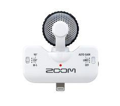 Zoom IQ5  Handy/Smartphone Lightning Verkabelt 62,4 x 38,5 mm iOS 6.0 or newer     #Zoom #Zoom IQ5 WH #Mikrofone  Hier klicken, um weiterzulesen.