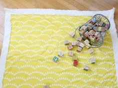 Easy DIY Baby Blanket