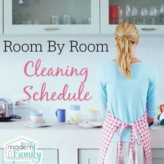 Thanks for the awesome guest post from J. today! It is so important to clean your house and this room by room cleaning schedule will help. First, de-clutter the rooms and then go back and clean them! It can be hard to remember when to clean what room, how often to clean it, and...