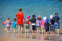 Fun at the Port Noarlunga Beach for the little ones