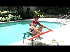 Water Exercises - Chest-Deep Crunches