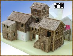 Manorhouse Workshop 25-38mm modular 3D wargaming elements | Indiegogo