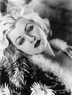 Barbara Pepper (1915-1969) -  American stage, television, radio, and film actress. Photo from the 1930's.