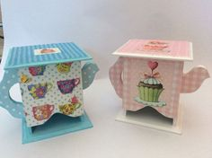 Imagen relacionada #pintturadecorativamadera Decoupage Box, Decoupage Vintage, Wooden Crafts, Diy And Crafts, Tea Box, Baby Design, Vintage Wood, Painting On Wood, Tea Party