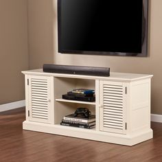 Arthur Media Stand Antique White - FROY