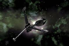 High Crusade by karanua on DeviantArt Fantasy Movies, Sci Fi Fantasy, Best Sci Fi Series, Sci Fi Spaceships, Babylon 5, Sci Fi Ships, Star Trek Starships, Sci Fi Films, Concept Ships