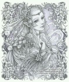 277 best Adult Coloring Pages images on Pinterest | Coloring books ...