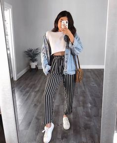 The Ultimate Trendy Outfits for Summer Teen Fashion Trick - Look Fashion, Teen Fashion, Fashion Outfits, Womens Fashion, Fashion 2016, Cheap Fashion, Latest Fashion, Teenager Fashion, Fashion Black