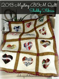 Terminado el BOM de Shabby Fabrics