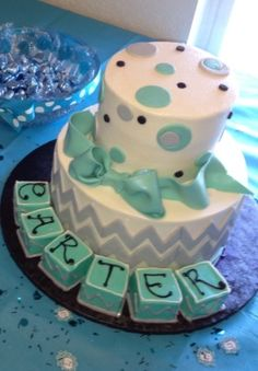 LOVED my baby shower cake! Sweet Layers!