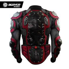 Item Type: JacketsFeature: Motorcycle Armor JacketBrand Name: SCOYCOMaterial: LeatherGender: UnisexSize : S,M,L,XL,XXLApproval : CEColor : Black Red,blackFitting : cycling Motorcycle armor