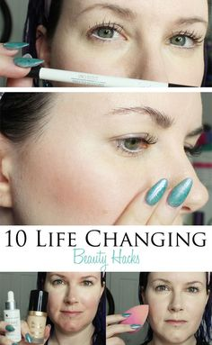 10 Life Changing Beauty Hacks You Need to Know. I share smart tips and tricks to make applying makeup easier.