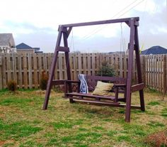 Swing set | Do It Yourself Home Projects from Ana White