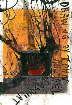 Ray Johnson & Basquiat_mail art