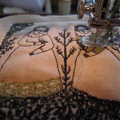 work in progress - stitch | Flickr - Photo Sharing! cathy cullis