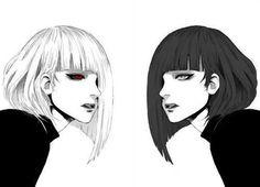 Kurona and Nashiro ||| Tokyo Ghoul Fan Art