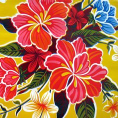 I love Mexican oilcloth - the colours, the energy, the environment they represent - casual, democratic, no-frills, but also beautiful