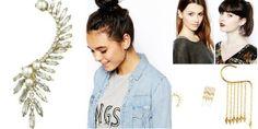"""Cuff Those Ears"" Awesome list on #earrings #evenings by @Meghan Mazzola.vij0gmail.com #fashion"
