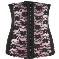 Morality Charm Women Sexy Purple Lace Overlay Gothic Punk…