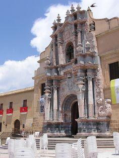 Fachada iglesia Caravaca de la Cruz(Murcia)