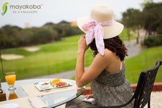 Brunch en el campo de golf… mayakobagolfcourse #elcamaleón #brunch #belleza #golf #PGATOUR #campodegolf