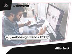 Im überaus turbulenten, vergangenen Jahr, hat sich natürlich auch #digital 📱 einiges getan. So auch beim Thema #Webdesign! 🎨 Hier geben wir dir einen kurzen Überblick in welche Richtung es geht und welche #Trends 📈 sich für das kommende Jahr abzeichnen! 👇 Design Web, Web Design Trends, Ecommerce, Polaroid Film, Marketing, Blog, Advertising Strategies, New Technology, Web Design