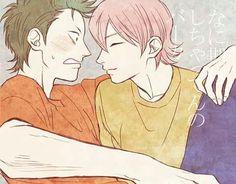 Diamond no Ace - Kuramochi x Kominato Baseball Anime, Baseball Boys, I Just Love You, Otaku Anime, Me Me Me Anime, Geek Stuff, Fan Art, Animation, Manga