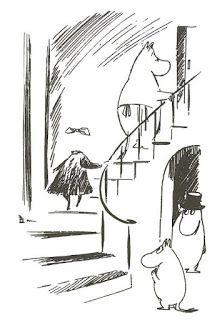 Muumittajan Muumi-blogi: Kertomus näkymättömästä lapsesta (Berättelsen om det osynliga barnet) Ghibli, Moomin Valley, Tove Jansson, Cartoon Shows, Little My, I Wallpaper, Ink Art, In A Heartbeat, Bujo