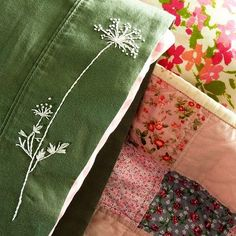 Queen Anne's Lace free embroidery pattern