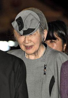 Empress Michiko, 6 de março, 2017 |  Real Chapéus