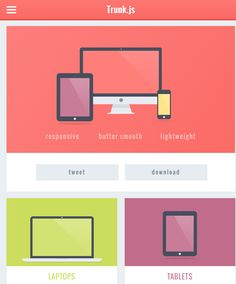 Super Handy Flat Design PSDs & Templates
