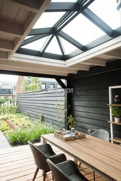 Pergola Attached To House Roof Design Your Dream House, House Design, Outdoor Rooms, Outdoor Living, Roof Lantern, Outside Living, Glass Roof, Backyard Patio, Pergola Garden