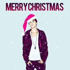 Justin Bieber Christmas GIF animation